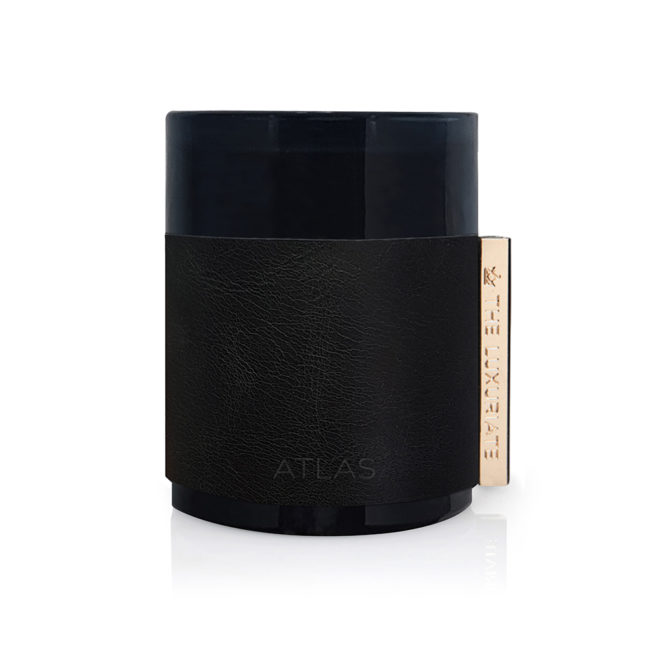 Atlas Leather Candle